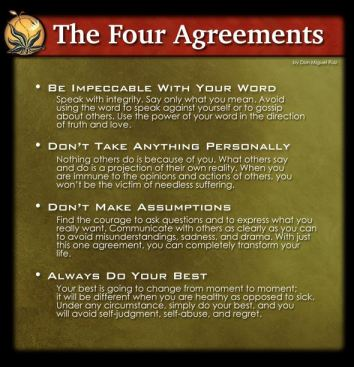 Sunday Sermon May 19 11am The Four Agreements Plus Book Club